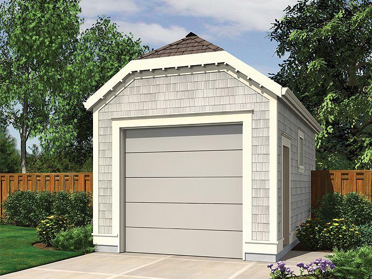 Визуализация гаража из панелей