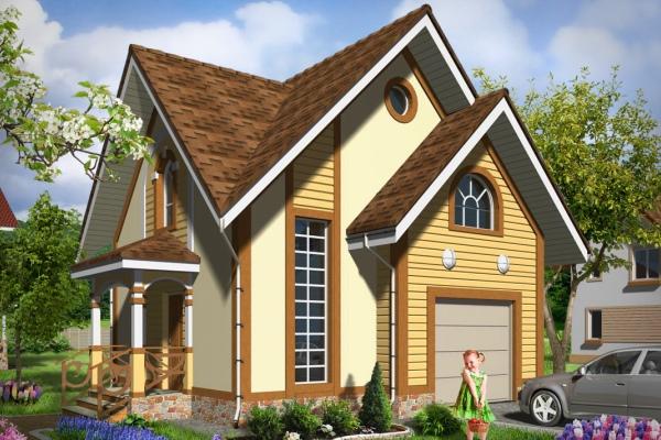 Визуализация проекта дома