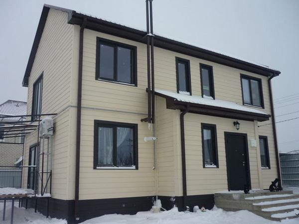 Жилой дом из SIP панелей