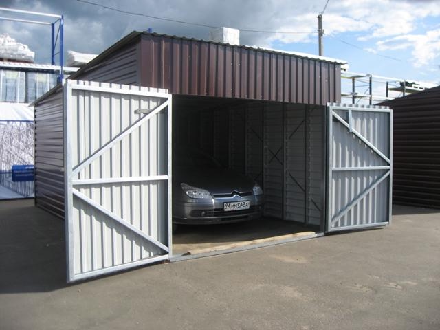Изготовление металлических ворот в гаражи основа под гараж металлический