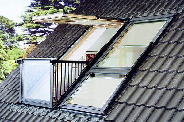 Совмещенная конструкция окно-балкон