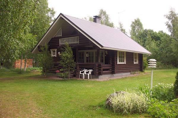 Деревянные дома из бревна