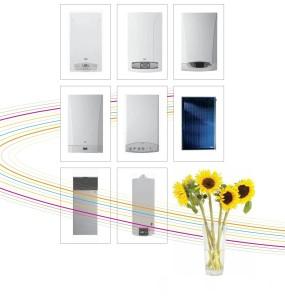 Современные котлы могут даже стать дополнением к оформлению помещения и даже доминантой интерьера