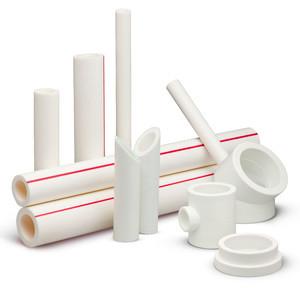 Трубы из сплошного пластика