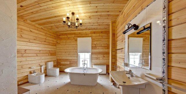 Гидроизоляция ванной комнаты в каркасном доме видеоурок как покрасить полиуретановый багет видео