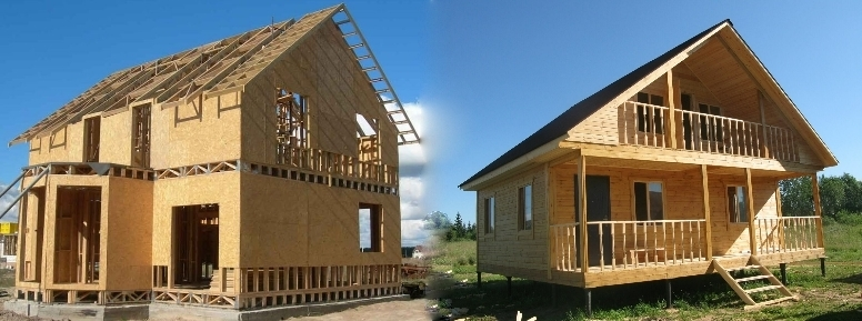Что лучше каркасный дом или дом из бруса?