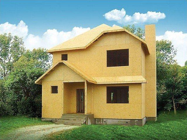 Дом из осб фанеры своими руками