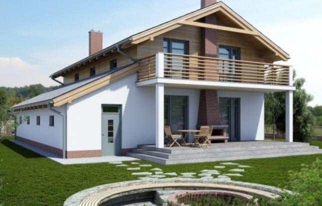 Каркасный двухэтажный дом с гаражом гараж в самаре построить
