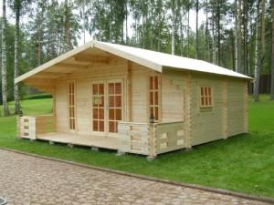 Каркасный домик