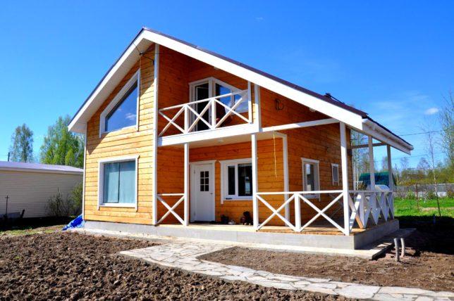 Каркасный дом на продажу