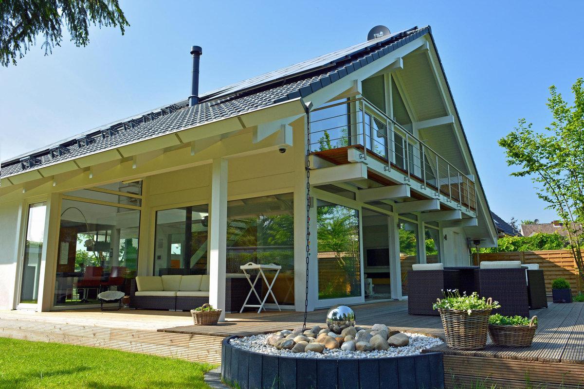 Каркасный немецкий дом