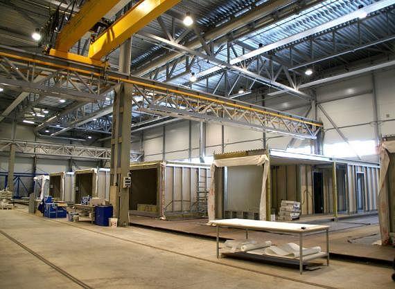 Завод для изготовления модулей