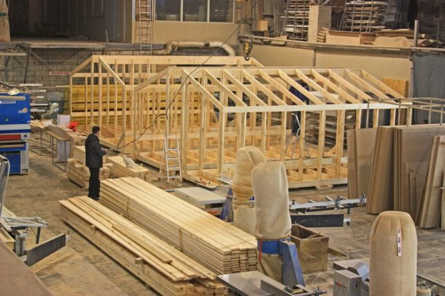Как строят модуль дома на заводе