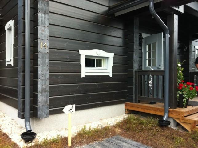 Цвета фасадов деревянных домов