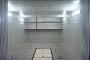 Отделка гаража алюминиевыми листами