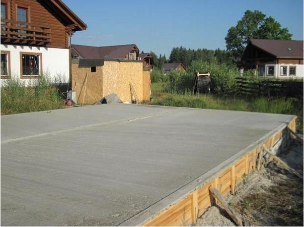Площадка для строительство гаража