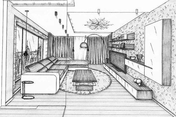 Планирование интерьера помещения