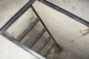 Лестница в смотровой яме