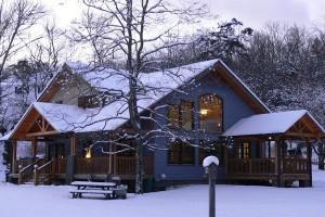 Теплый каркасный дом