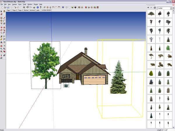 Моделирование в Google SketchUp