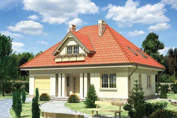крыша с 4 скатами