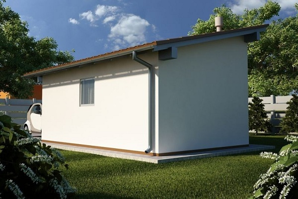 Крыша с одним скатом