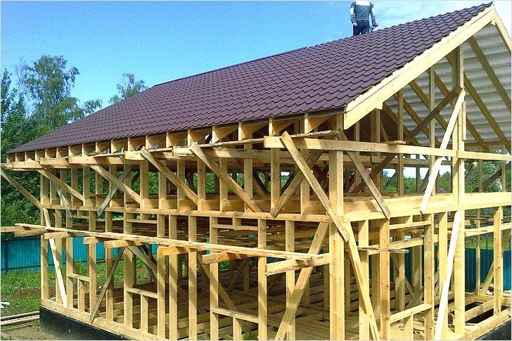 Построить каркасного дома своими руками