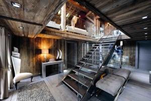 Мебель в доме шале