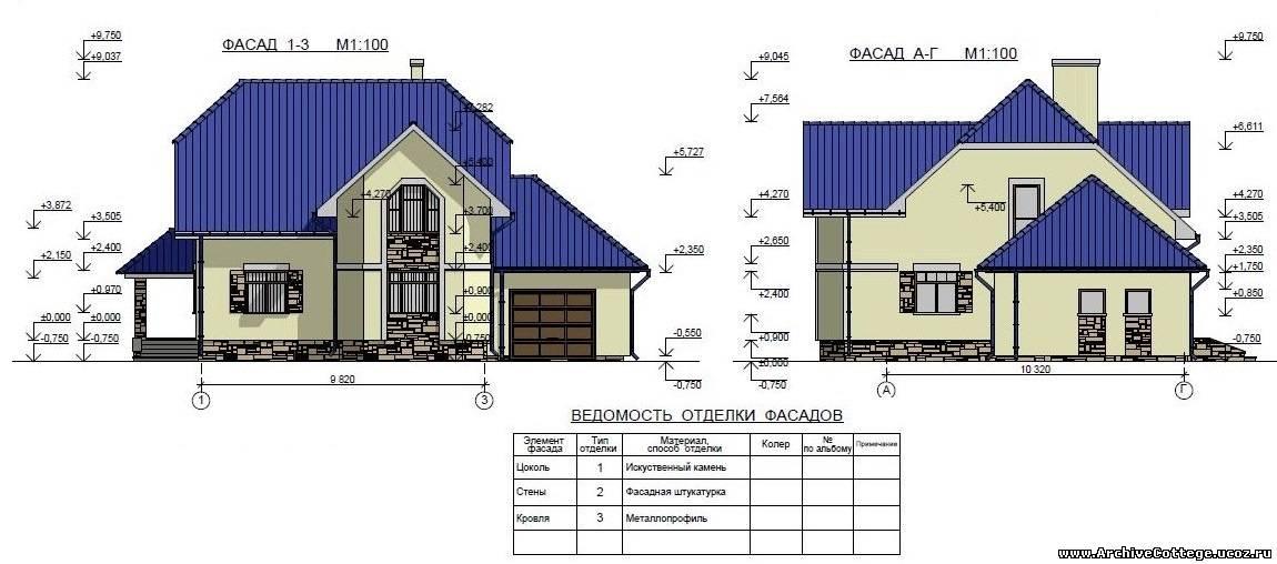 Проект многоскатной крыши