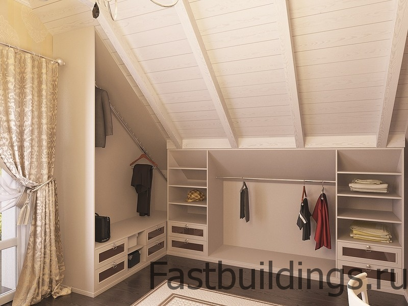 Шкафы своими руками на мансарде фото