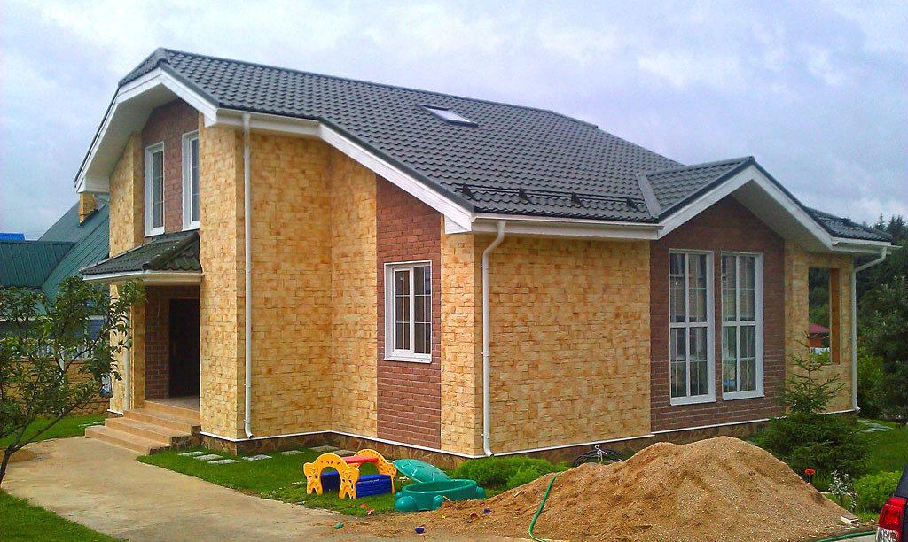 Дом для семьи из сип панелей