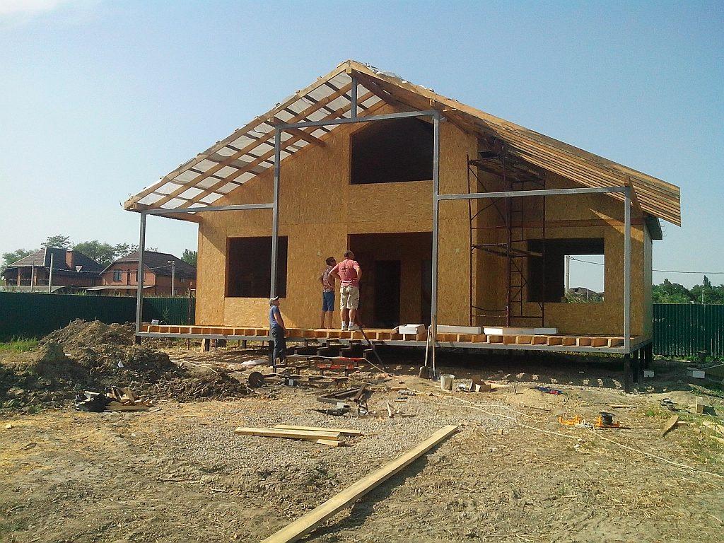 Дом построить быстро